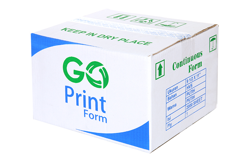 continuous form 1 ply